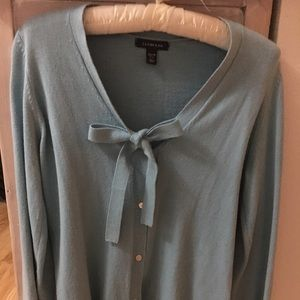 Cardigan with Tie Front